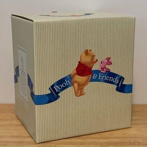 "Disney Pooh & Piglet Porcelain 4.5"" Figure NIB"